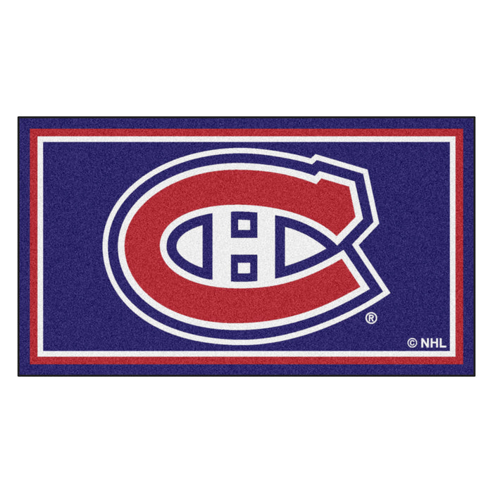 "NHL - Montreal Canadiens 3x5 Rug 36""x 60"""