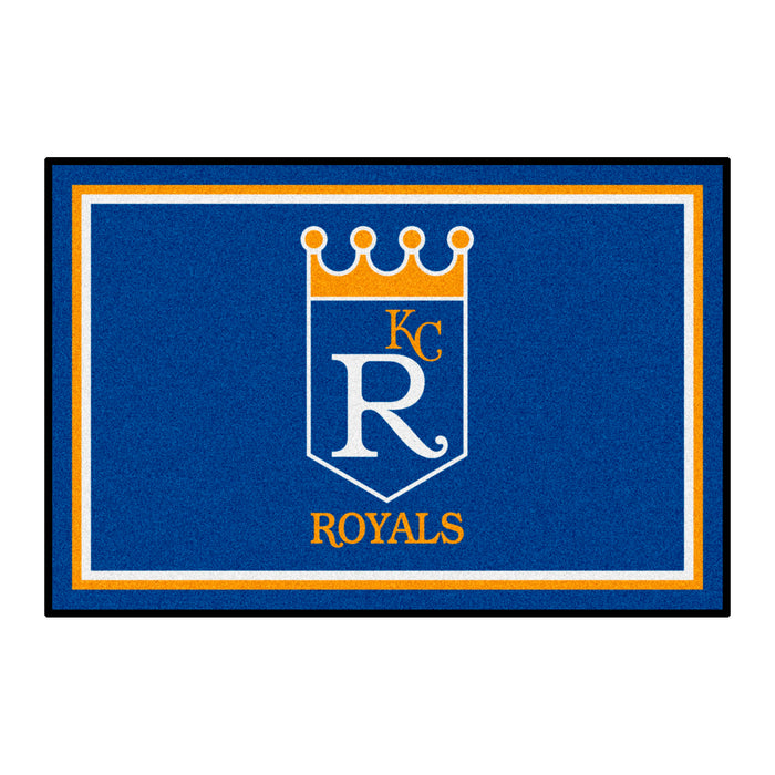 Retro Collection - 1969 Kansas City Royals 4x6 Rug