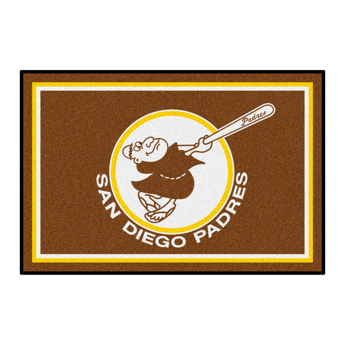 Retro Collection - 1969 San Diego Padres 4x6 Rug