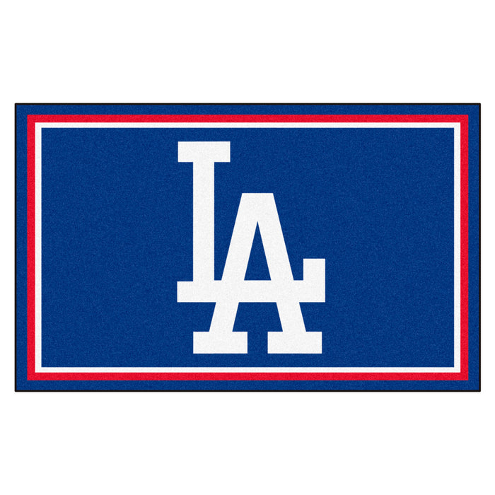 "MLB - Los Angeles Dodgers 4x6 Rug 44""x71"""