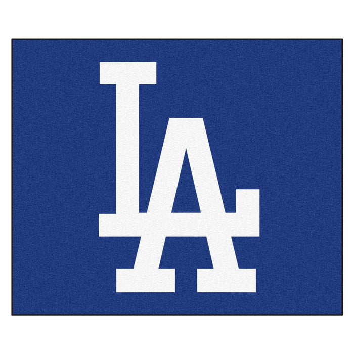 MLB - Los Angeles Dodgers 'LA' Tailgater Rug 5'x6'