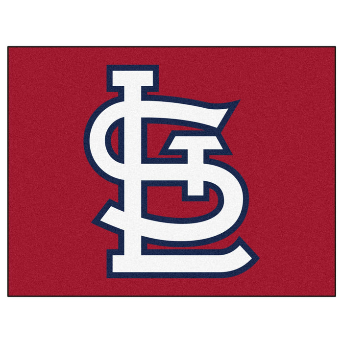"MLB - St. Louis Cardinals 'StL' All-Star Mat 33.75""x42.5"" From Fan Cave Rugs"