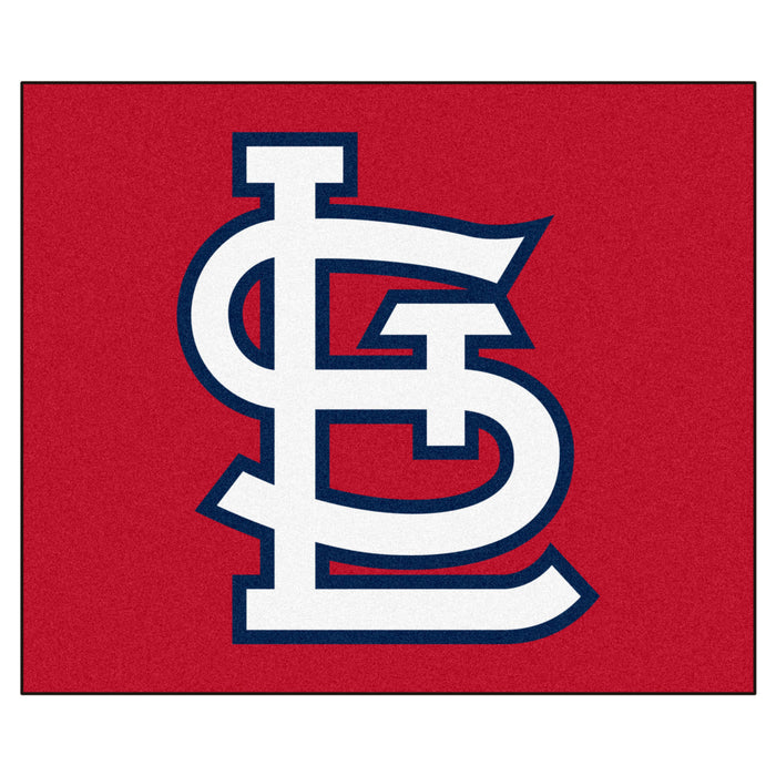 MLB - St. Louis Cardinals 'StL' Tailgater Rug 5'x6'