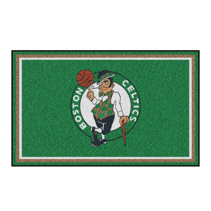 "NBA - Boston Celtics 4x6 Rug 44""x71"""
