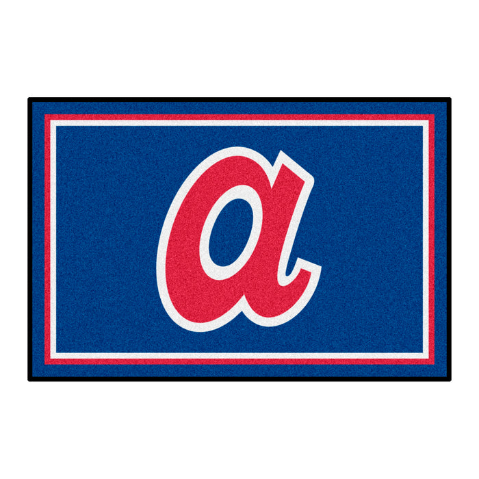 Retro Collection - 1974 Atlanta Braves 4x6 Rug