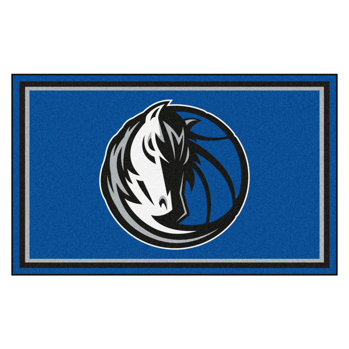 "NBA - Dallas Mavericks 4x6 Rug 44""x71"""