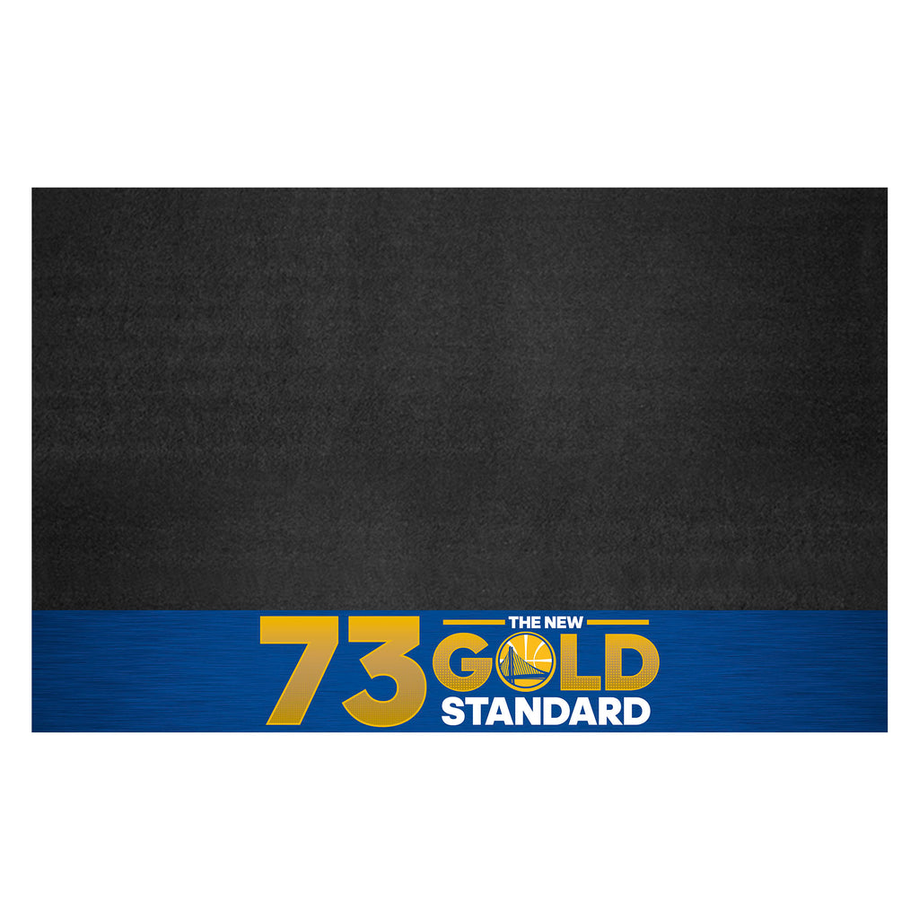 "NBA - Warriors 73 Grill Mat 26""x42"""