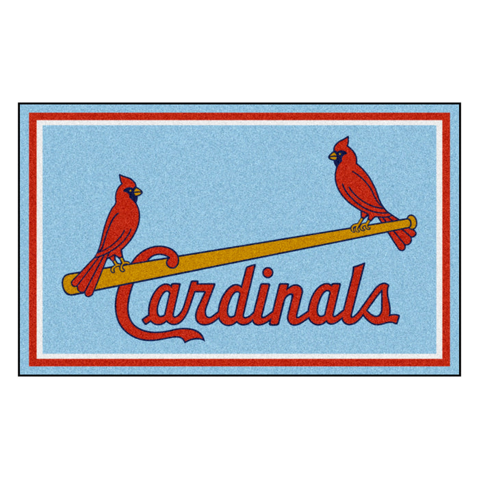 Retro Collection - 1976 St. Louis Cardinals 4x6 Rug