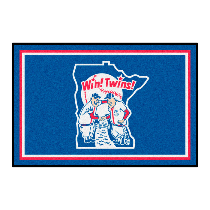 Retro Collection - 1978 Minnesota Twins 4x6 Rug