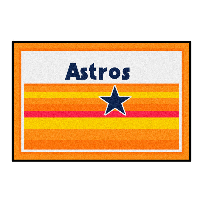 Retro Collection - 1984 Houston Astros 4x6 Rug