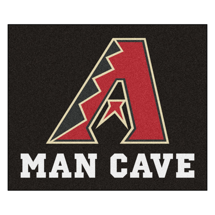 MLB - Arizona Diamondbacks Man Cave Tailgater Rug 5'x6' - Fan Cave Rugs