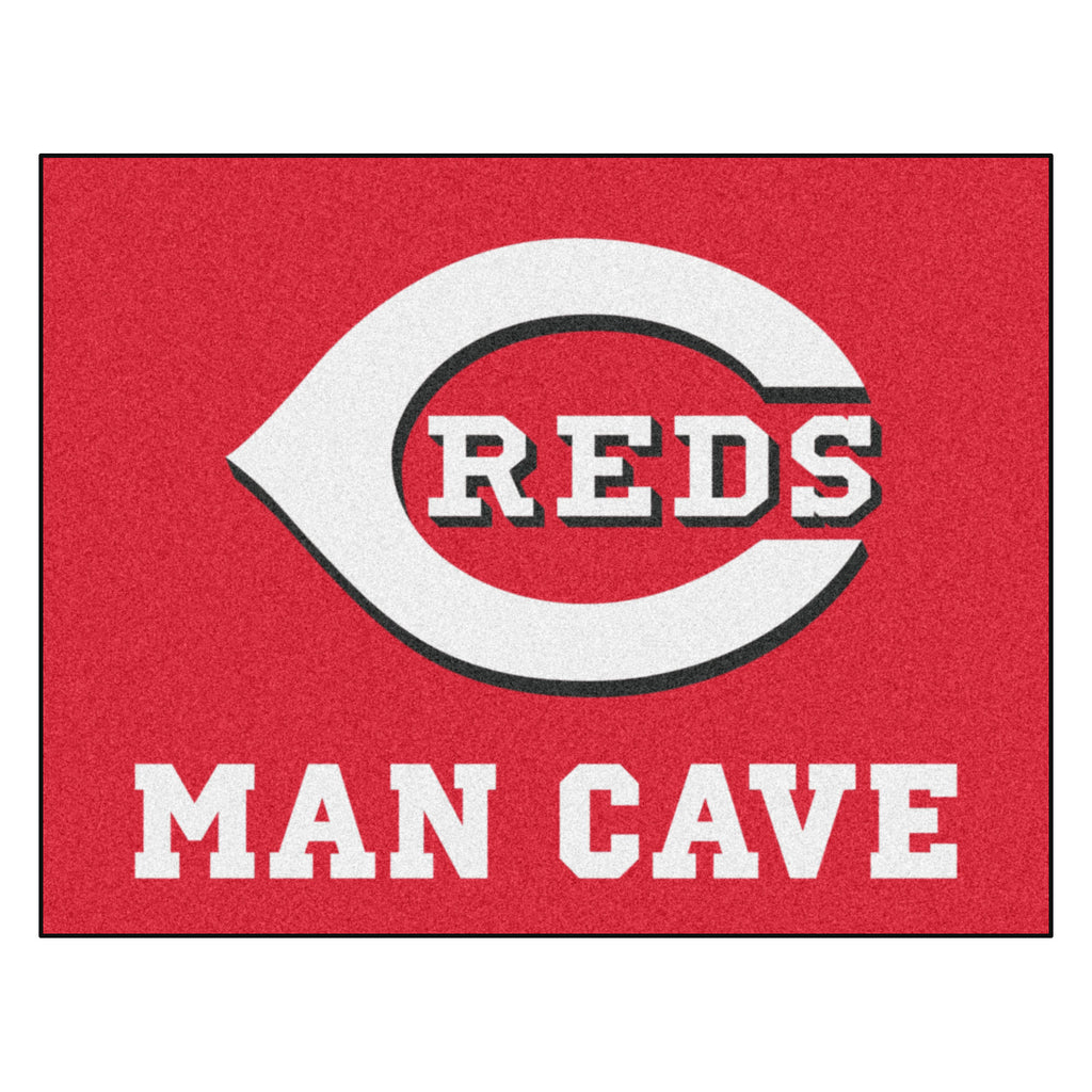 "MLB - Cincinnati Reds Man Cave All-Star Mat 33.75""x42.5"""