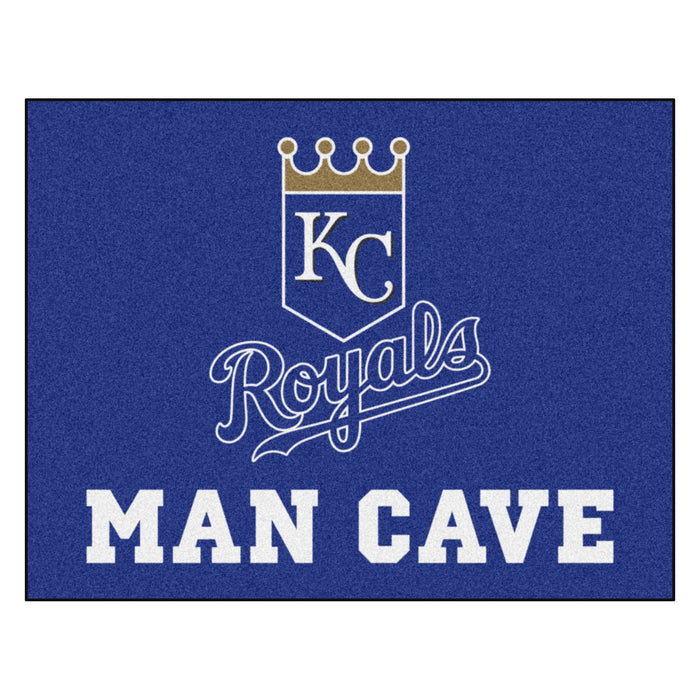 "MLB - Kansas City Royals Man Cave All-Star Mat 33.75""x42.5"""