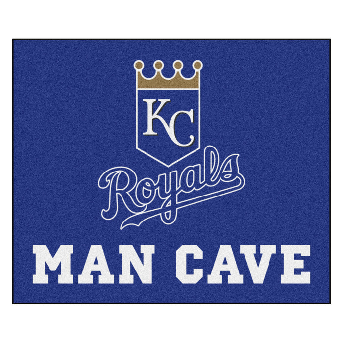 MLB - Kansas City Royals Man Cave Tailgater Rug 5'x6'