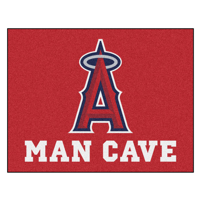 "MLB - Los Angeles Angels Man Cave All-Star Mat 33.75""x42.5"""