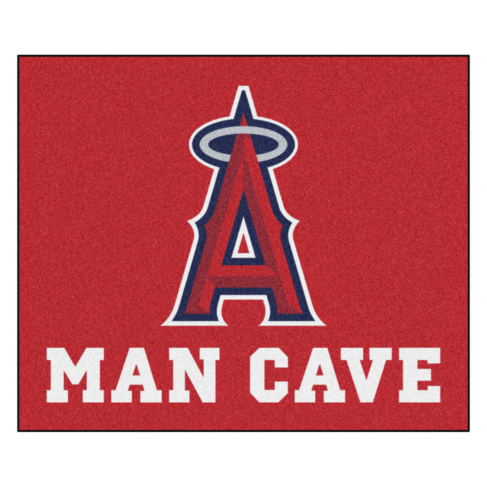 MLB - Los Angeles Angels Man Cave Tailgater Rug 5'x6'