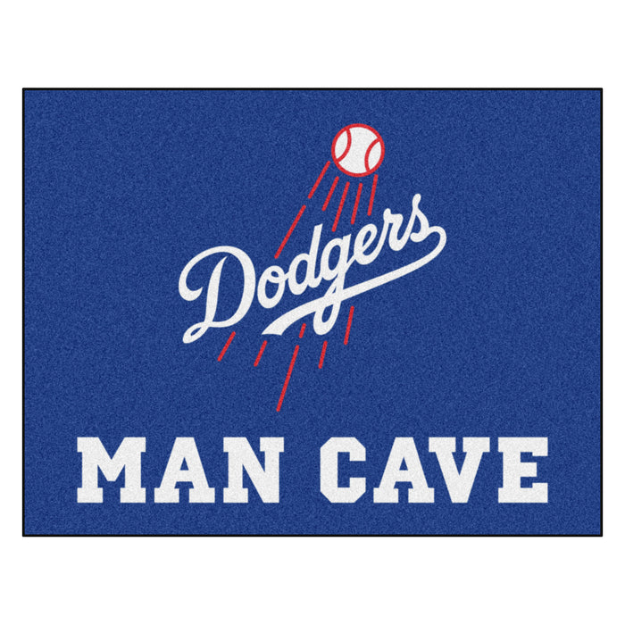 "MLB - Los Angeles Dodgers Man Cave All-Star Mat 33.75""x42.5"""