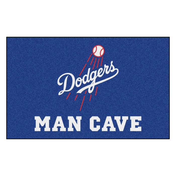 MLB - Los Angeles Dodgers Man Cave UltiMat 5'x8' Rug
