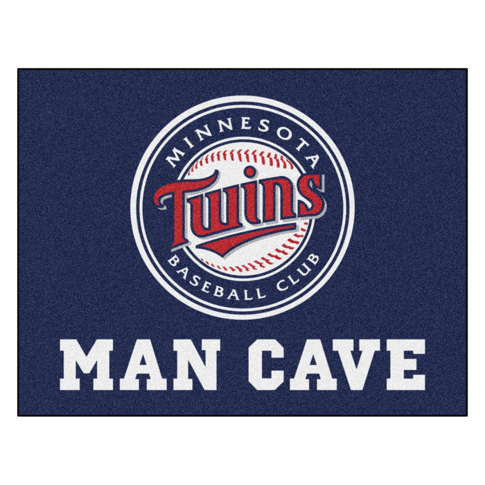 "MLB - Minnesota Twins Man Cave All-Star Mat 33.75""x42.5"" - Fan Cave Rugs"