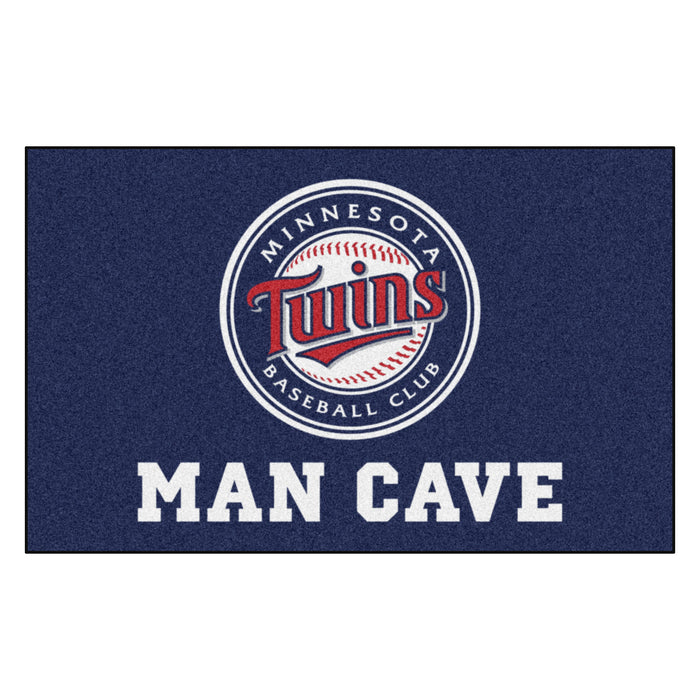 MLB - Minnesota Twins Man Cave UltiMat 5'x8' Rug - Fan Cave Rugs
