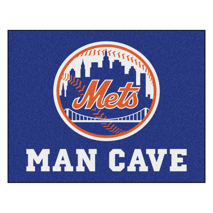 "MLB - New York Mets Man Cave All-Star Mat 33.75""x42.5"" - Fan Cave Rugs"