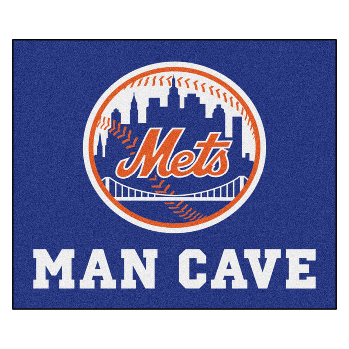 MLB - New York Mets Man Cave Tailgater Rug 5'x6'