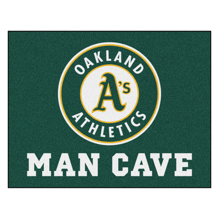 "MLB - Oakland Athletics Man Cave All-Star Mat 33.75""x42.5"""