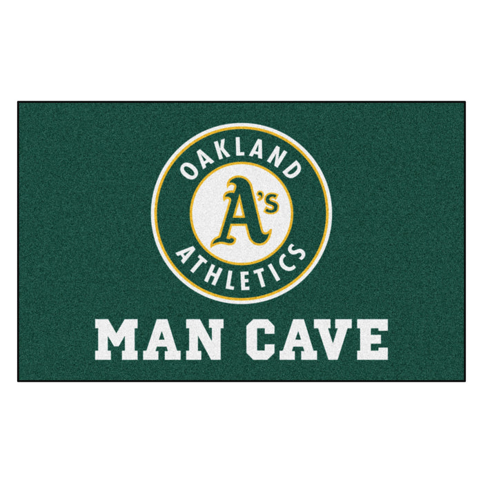 MLB - Oakland Athletics Man Cave UltiMat 5'x8' Rug