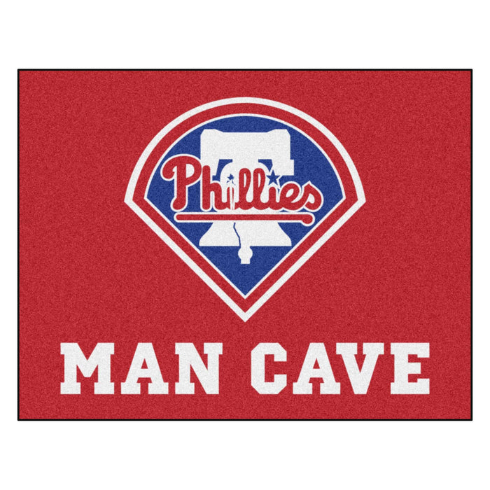 "MLB - Philadelphia Phillies Man Cave All-Star Mat 33.75""x42.5"""