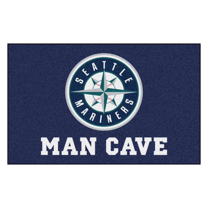 MLB - Seattle Mariners Man Cave UltiMat 5'x8' Rug
