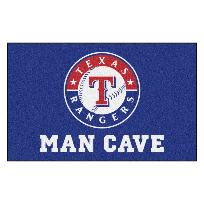 MLB - Texas Rangers Man Cave UltiMat 5'x8' Rug