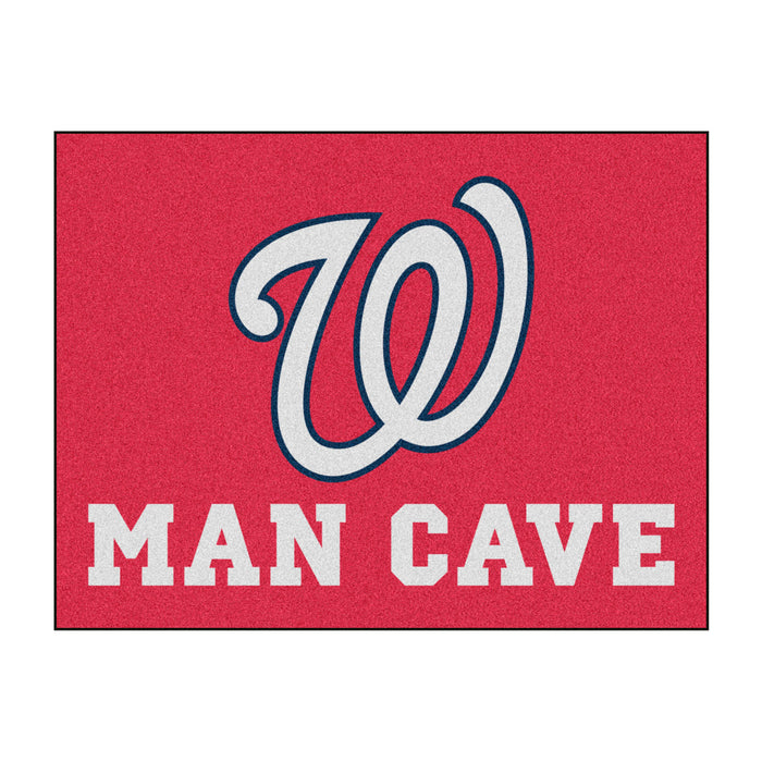 "MLB - Washington Nationals Man Cave All-Star Mat 33.75""x42.5"""