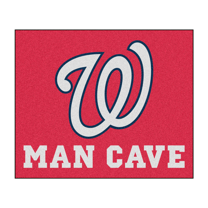 MLB - Washington Nationals Man Cave Tailgater Rug 5'x6'
