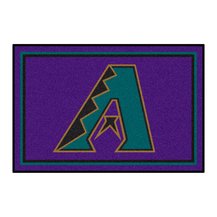 Retro Collection - 1998 Arizona Diamondbacks 4x6 Rug