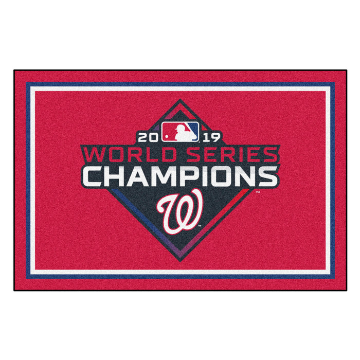 MLB - Washington Nationals  2019 World Series Champions 5x8 Rug