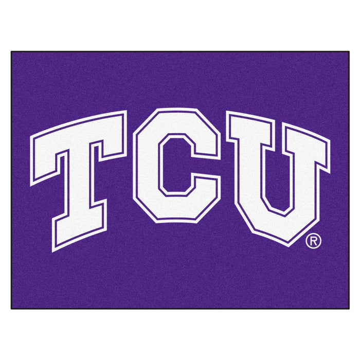 "TCU All-Star Mat 33.75""x42.5"" - Fan Cave Rugs"