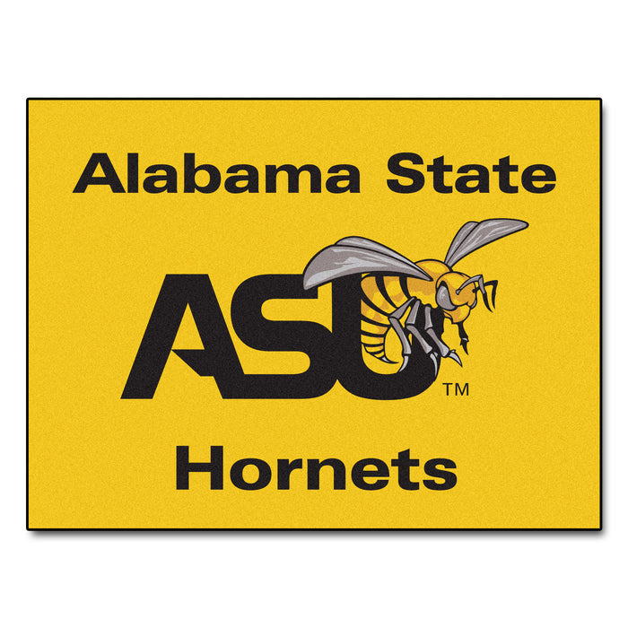 "Alabama State All-Star Mat 33.75""x42.5"" - Fan Cave Rugs"