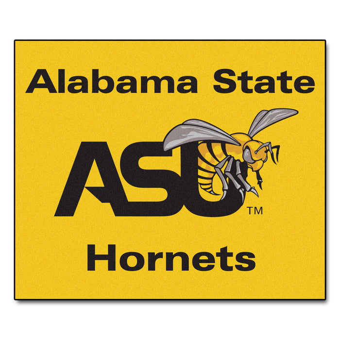 Alabama State Tailgater Rug 5'x6' - Fan Cave Rugs