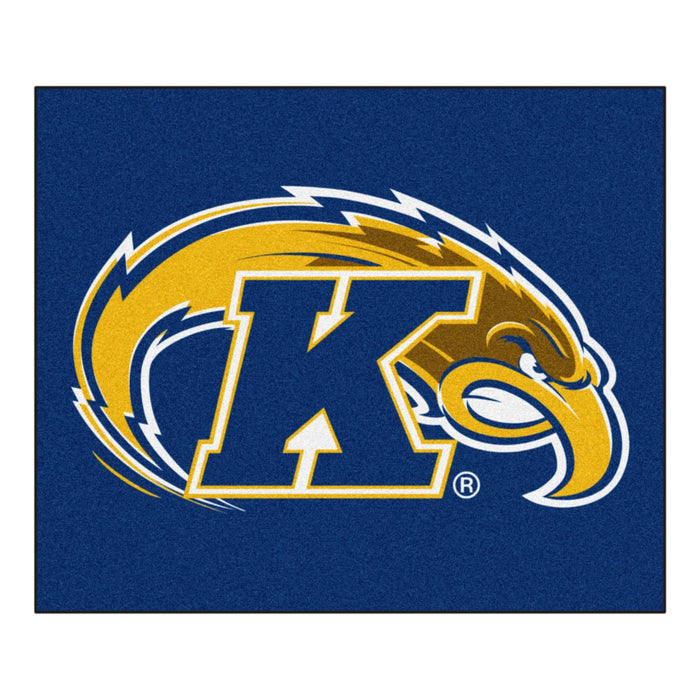 Kent State Tailgater Rug 5'x6' - Fan Cave Rugs
