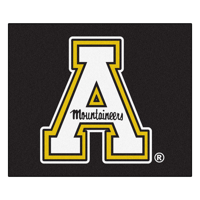 Appalachian State Tailgater Rug 5'x6' - Fan Cave Rugs