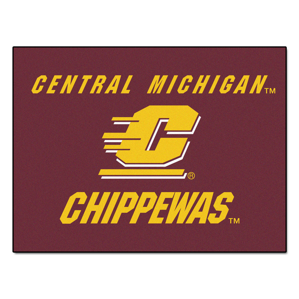 "Central Michigan All-Star Mat 33.75""x42.5"""