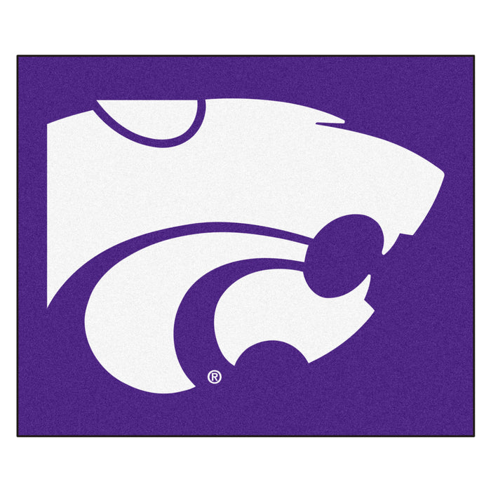 Kansas State Tailgater Rug 5'x6' - Fan Cave Rugs
