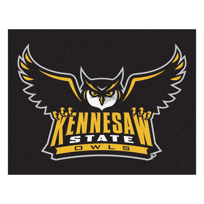 "Kennesaw State All-Star Mat 33.75""x42.5"" - Fan Cave Rugs"