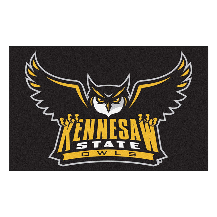 Kennesaw State Ulti-Mat 5'x8' - Fan Cave Rugs