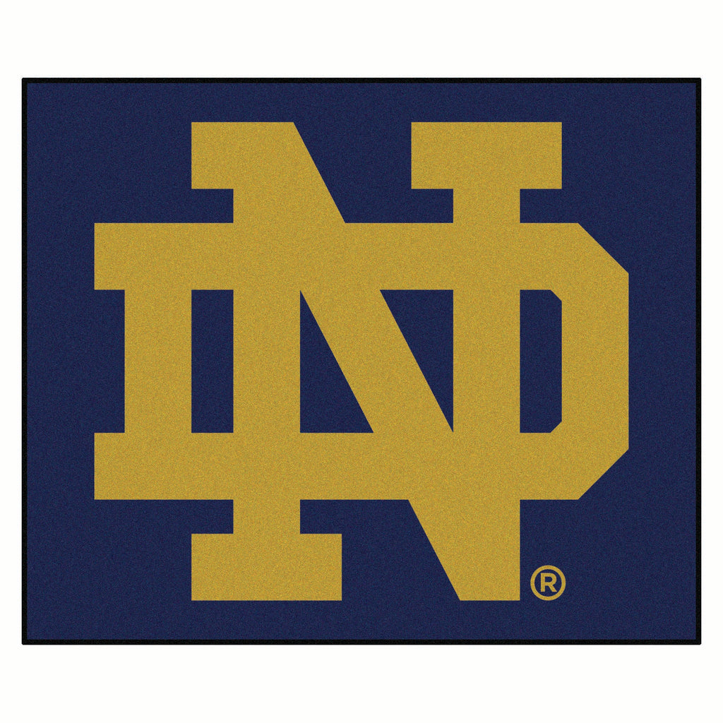 Notre Dame Tailgater Rug 5'x6'