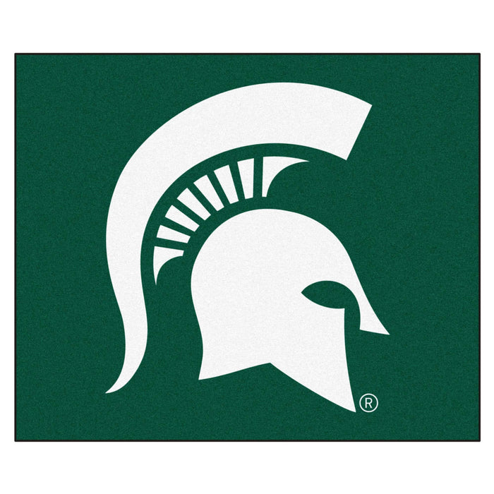 Michigan State Tailgater Rug 5'x6' - Fan Cave Rugs