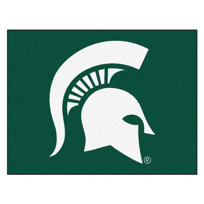 "Michigan State All-Star Mat 33.75""x42.5"" - Fan Cave Rugs"