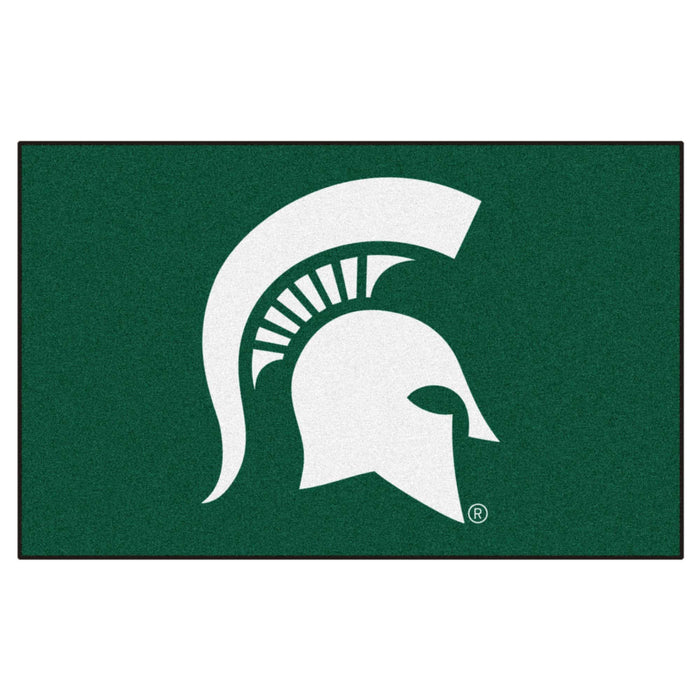 Michigan State Ulti-Mat 5'x8' - Fan Cave Rugs