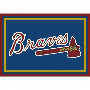 ATLANTA BRAVES SPIRIT RUG