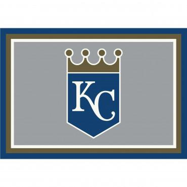 KANSAS CITY ROYALS SPIRIT RUG
